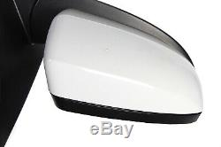 07-13 BMW E70 X5 Right Passenger Side View Door Mirror Assembly Alpine White OEM