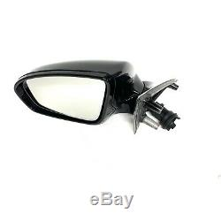 2012-16 BMW F10 M5 Passenger RIGHT Sideview Mirror-with Top View CAMERA Black OEM