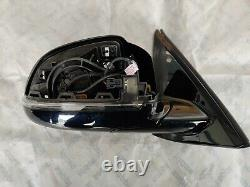 51167364022 Original OEM BMW X5 Part Outside mirror without glass heated LEFT