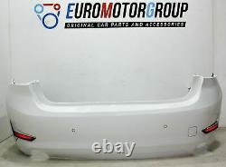 Bmw Bumper trim panel rear 3' G20 Alpine White 3
